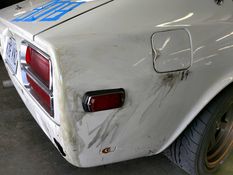 1978 Datsun 280Z right hand rear detail shot