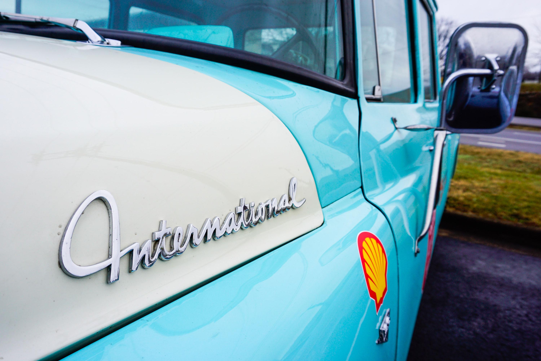 1962 International Travelette Pick Up LH fender