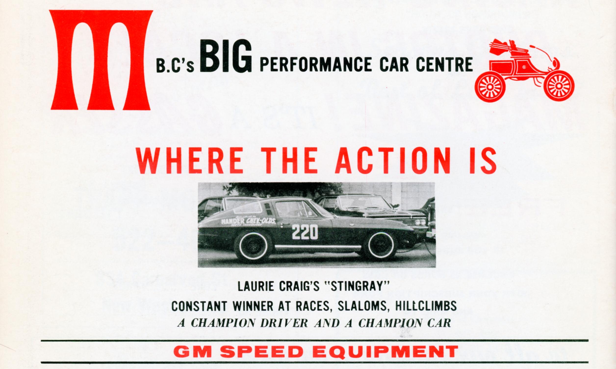 1964 Corvette Mag Ad