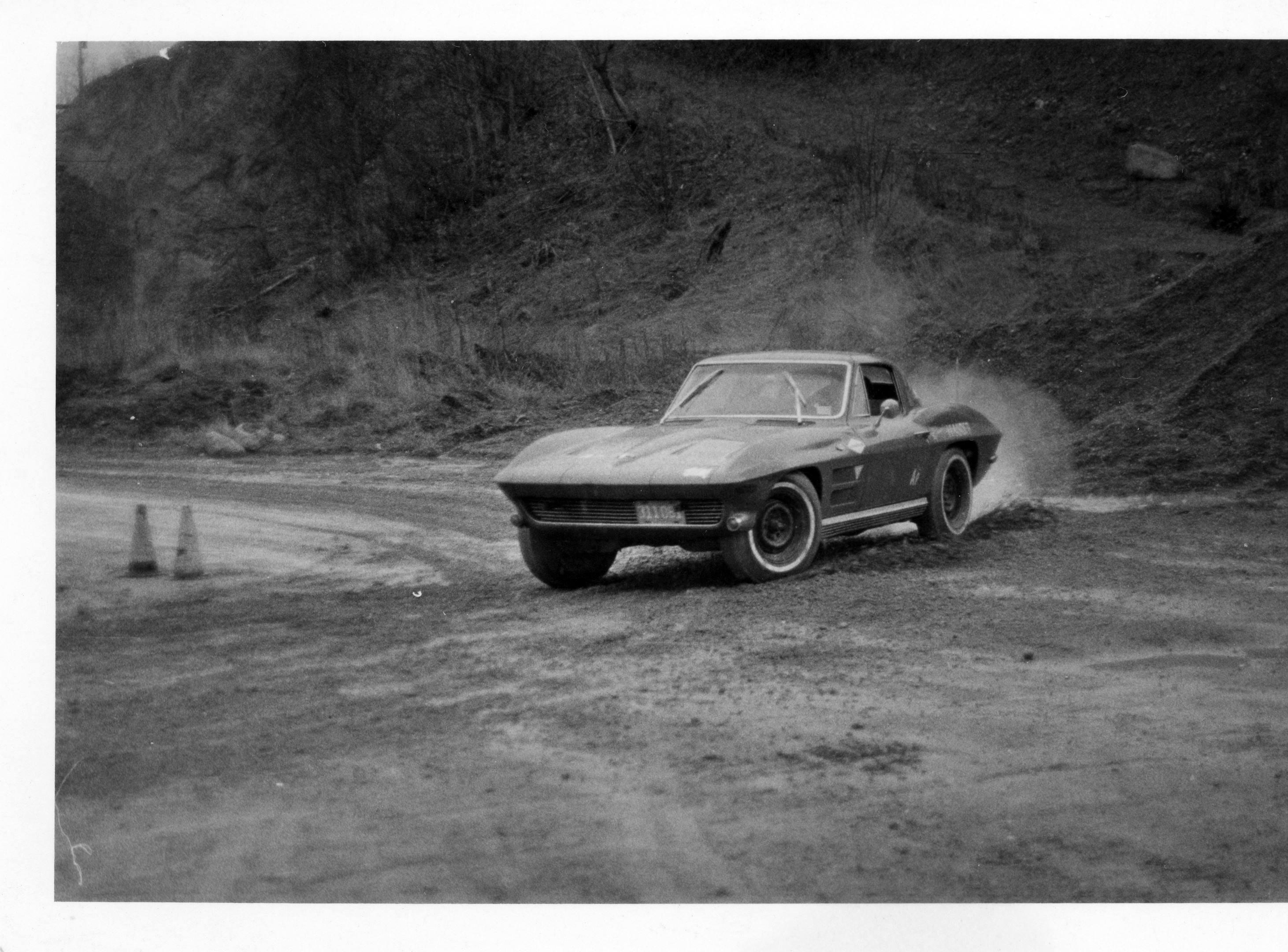 Laurie Craig Autocross Race 1966