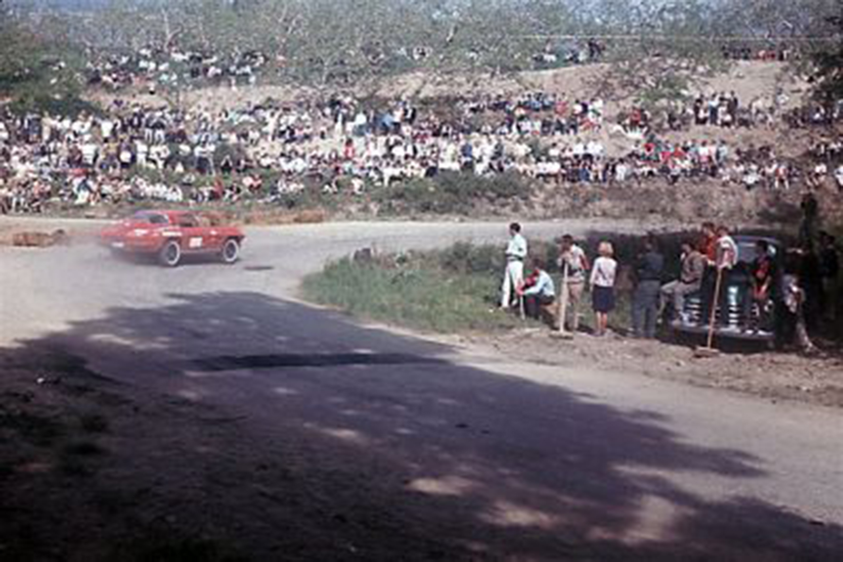 Okanagan hill climb 1965
