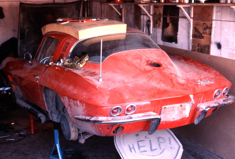 the corvette needs help
