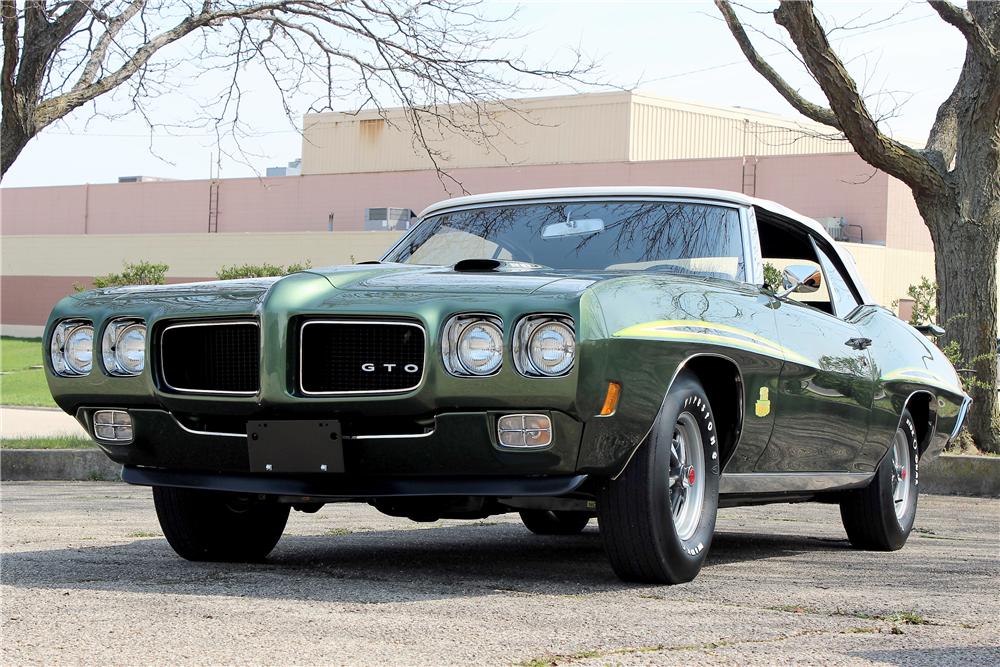 1970 Pontiac GTO Judge at Barrett-Jackson