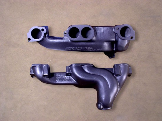 Pontiac round port Ram Air Manifolds