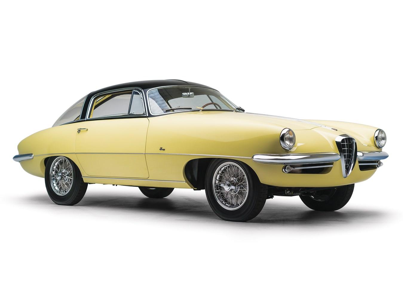 1955 Alfa Romeo 1900C SS Speciale by Boano