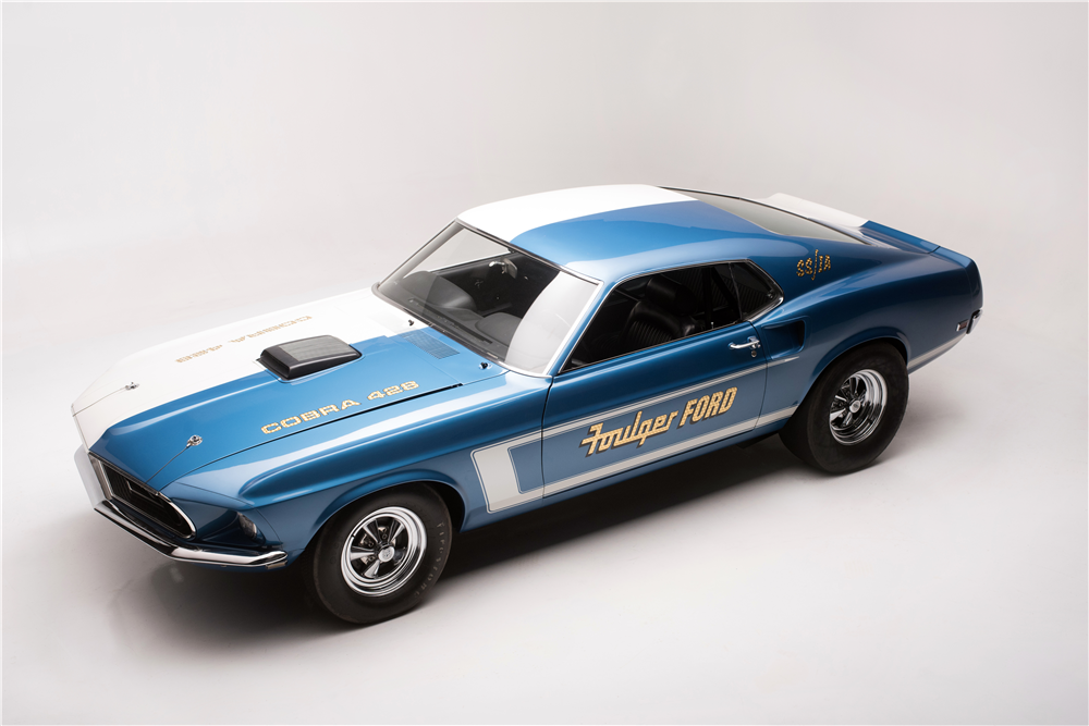 1969 Ford Mustang Cobra Jet R