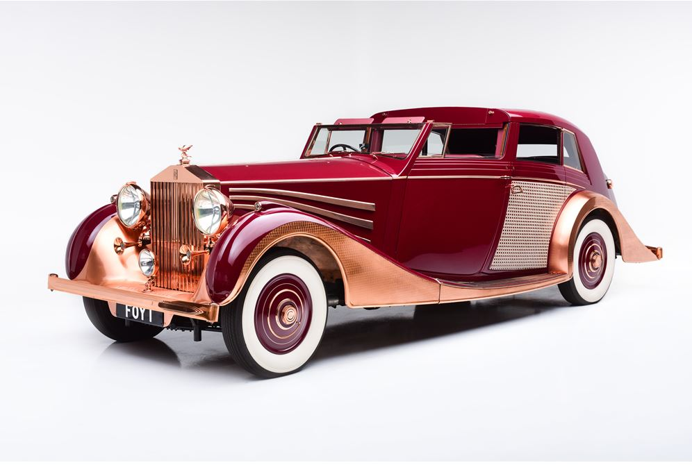 1937 Rolls-Royce Phantom III Sedanca De Ville by Freestone and Webb