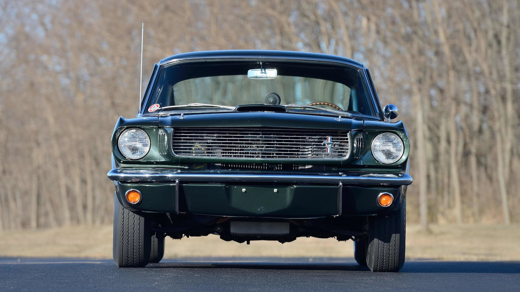 1966 Shelby GT350 front view