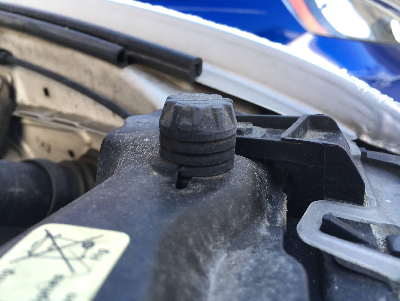 hood standoff bumper rubber bmw