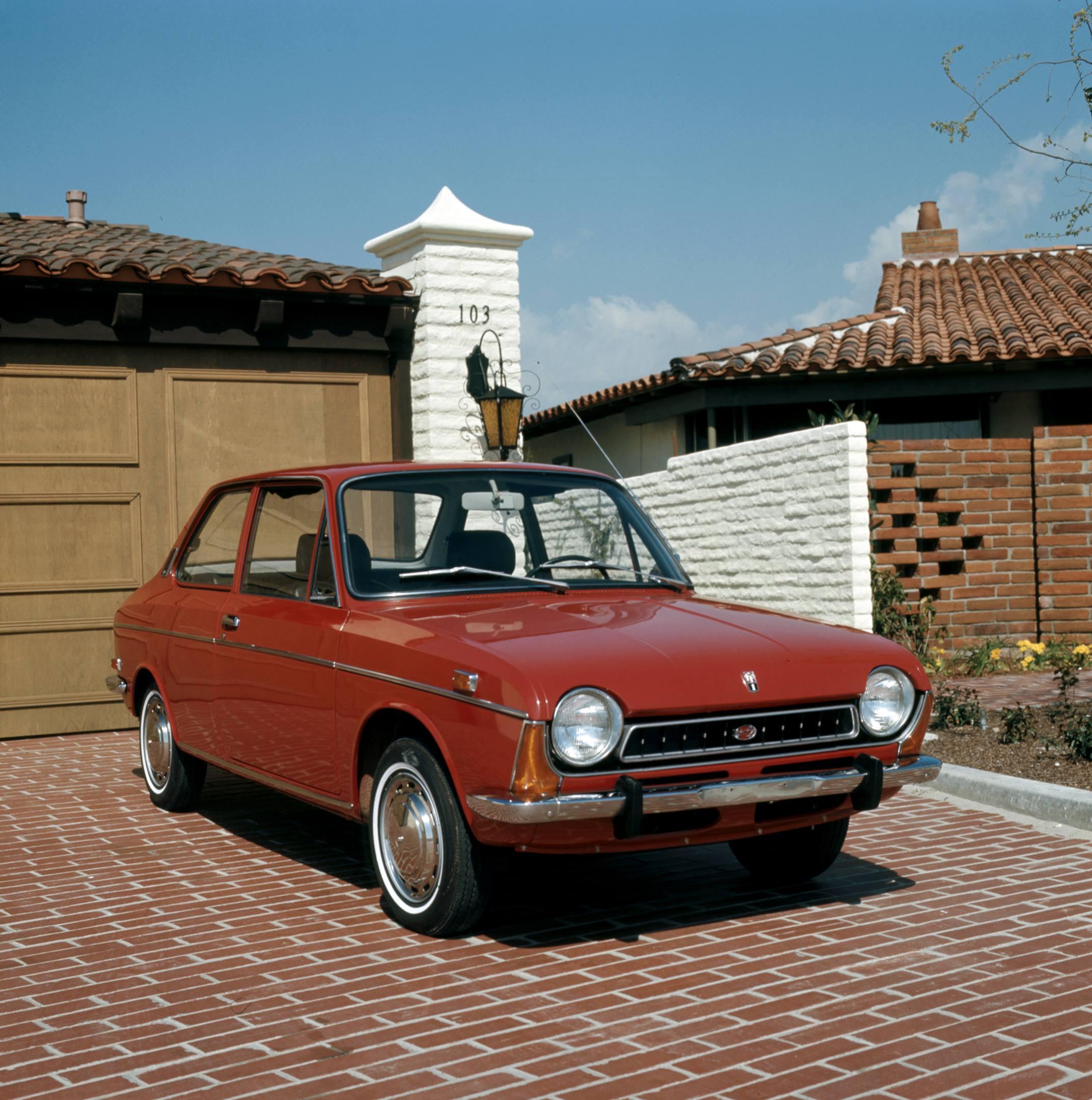 1970 Subaru FF-1 two-door