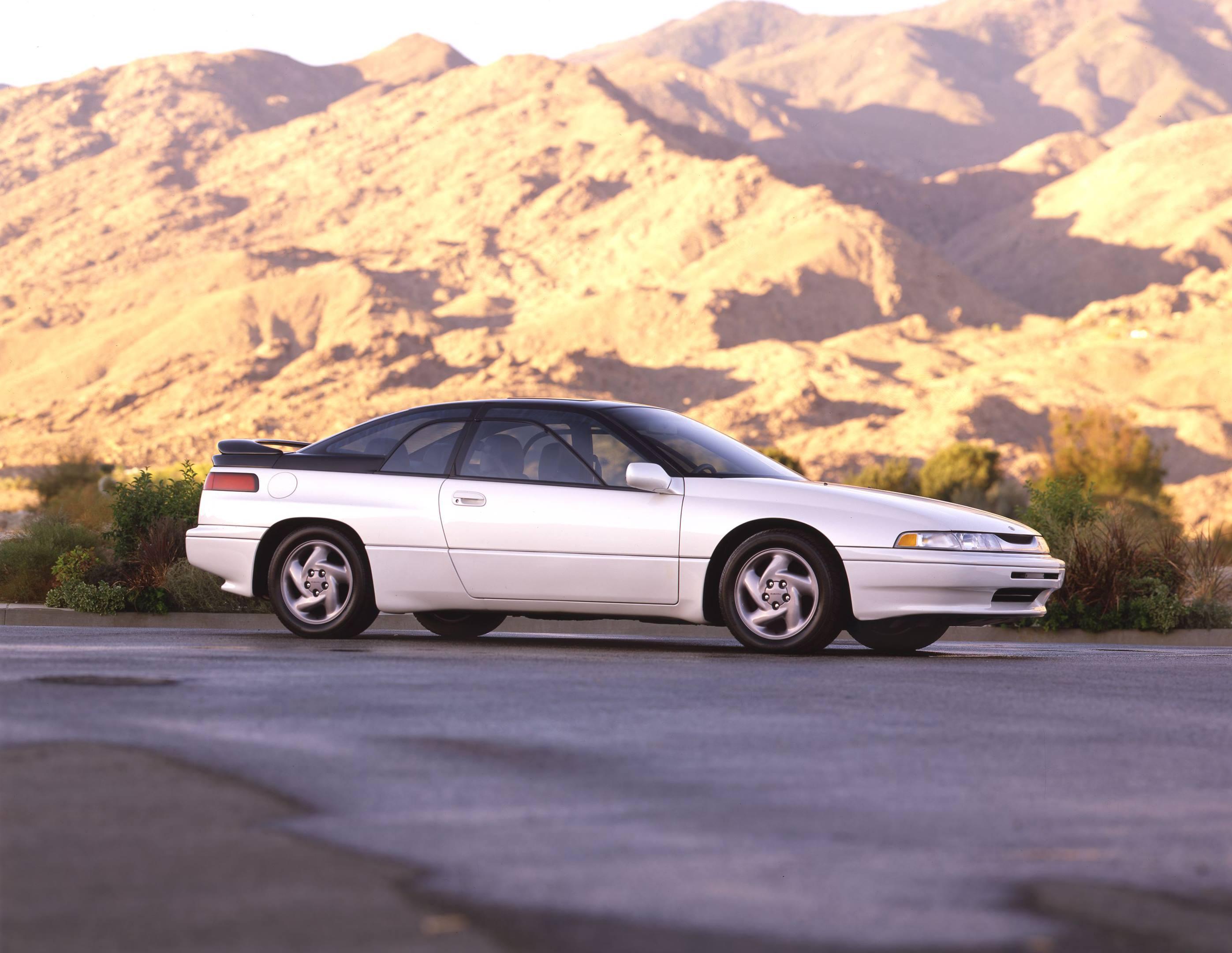 Subaru SVX white