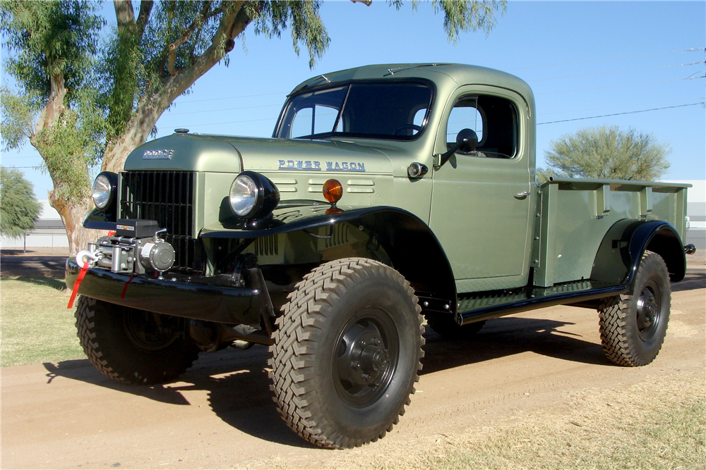 1951 Dodge B-3-PW Power Wagon