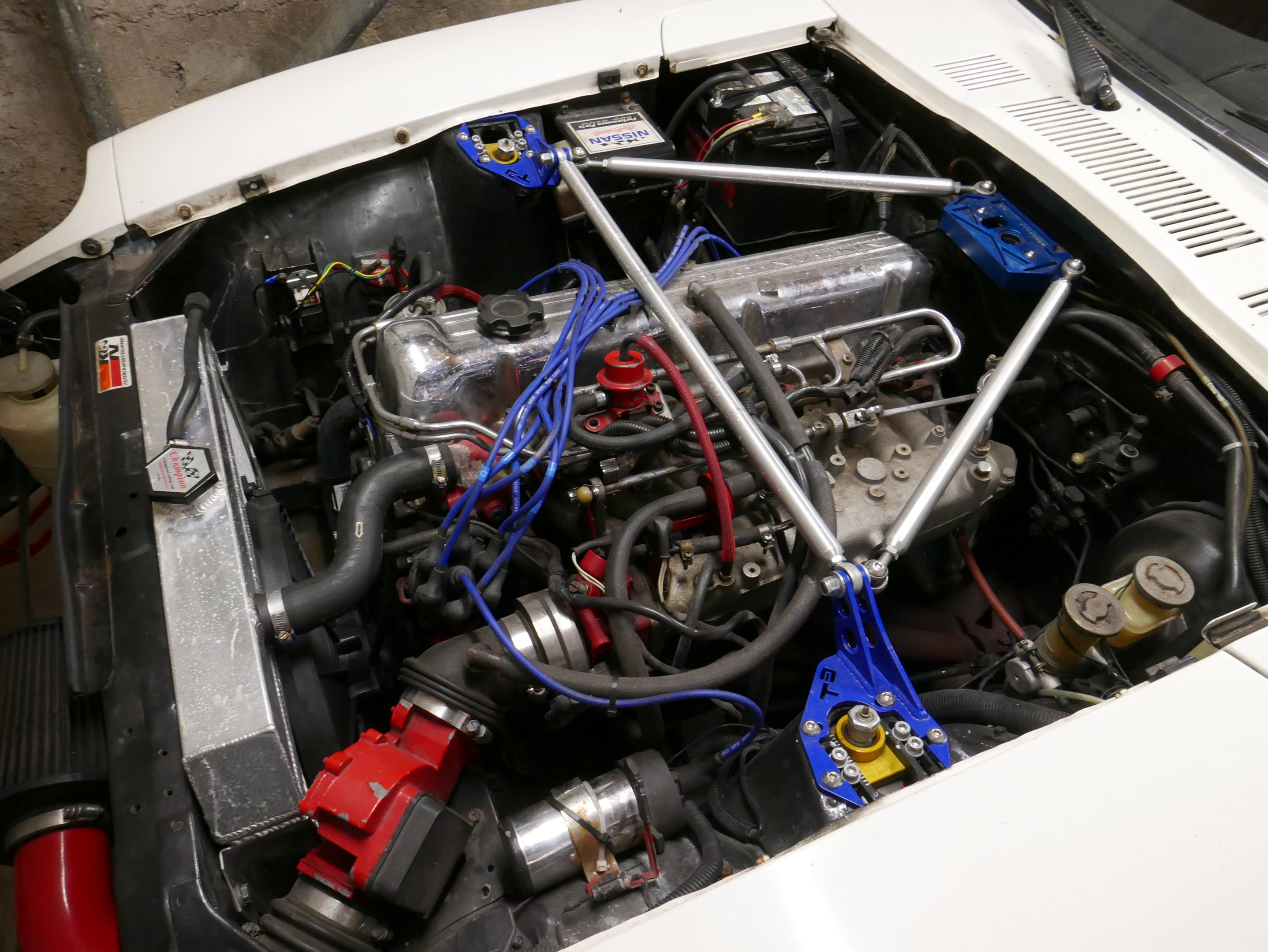 1978 Datsun 280Z engine