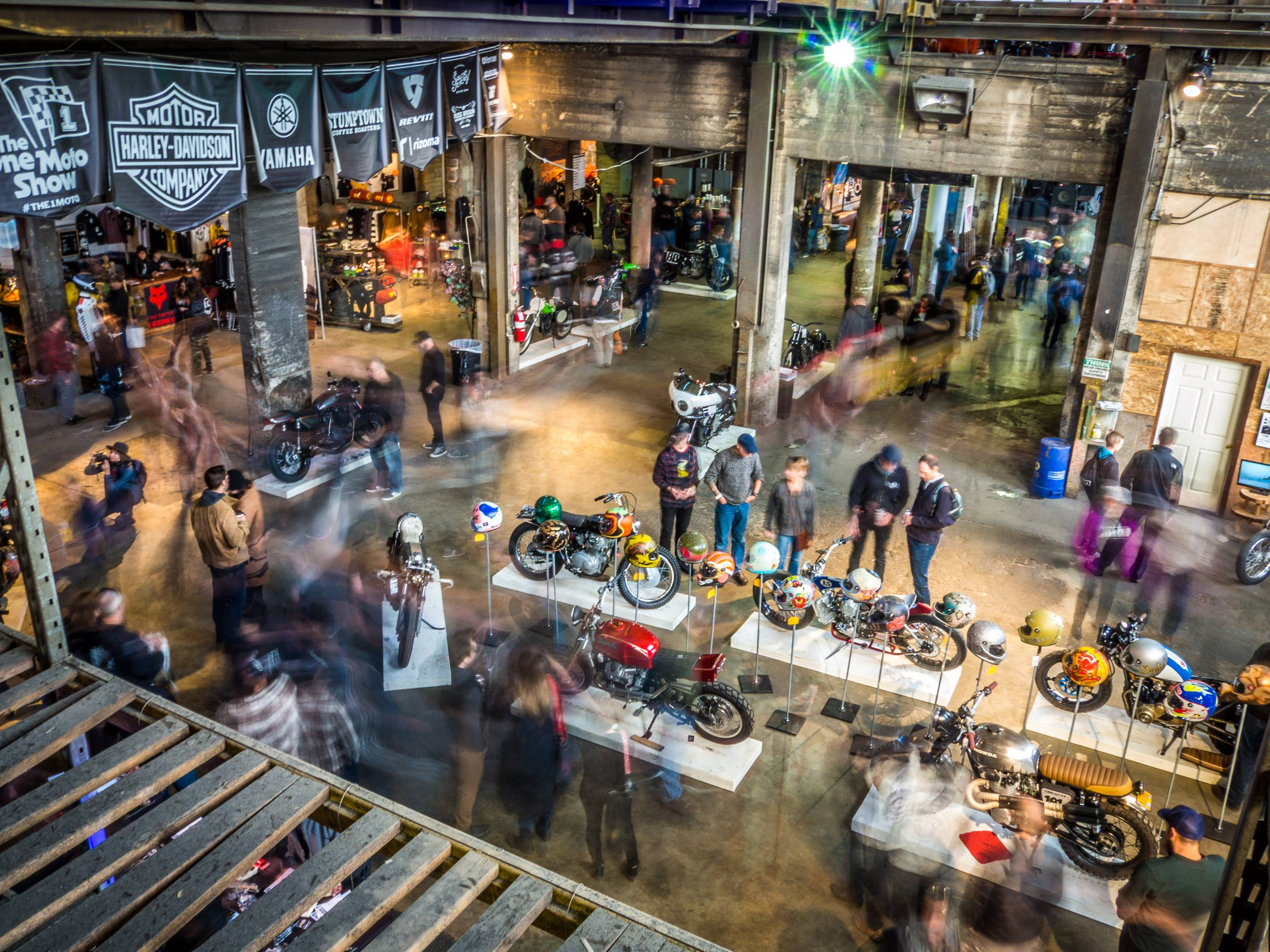 The One Moto Show was a flurry of activity for three straight days.