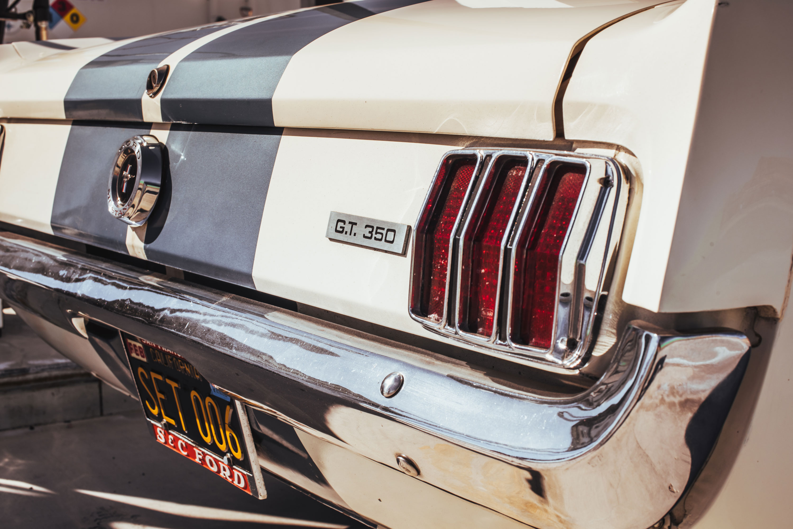 1965 Shelby GT350 Mustang taillight detail