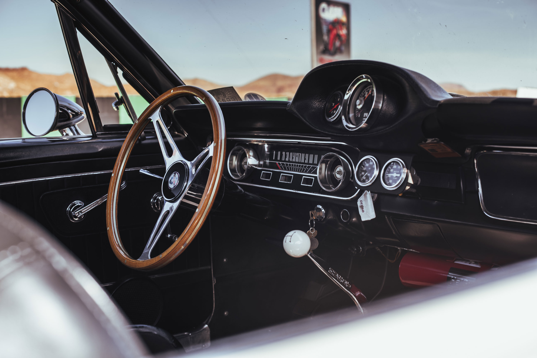1965 Shelby GT350 Mustang interior