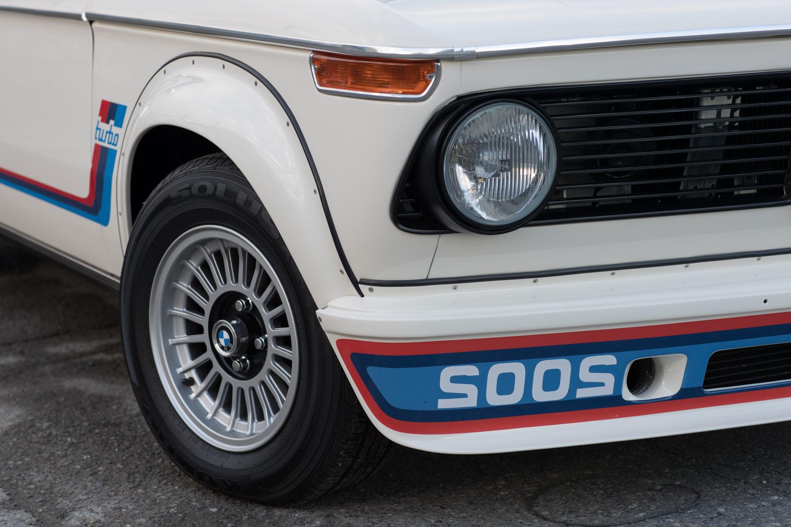 1974 BMW 2002 Turbo RH front corner