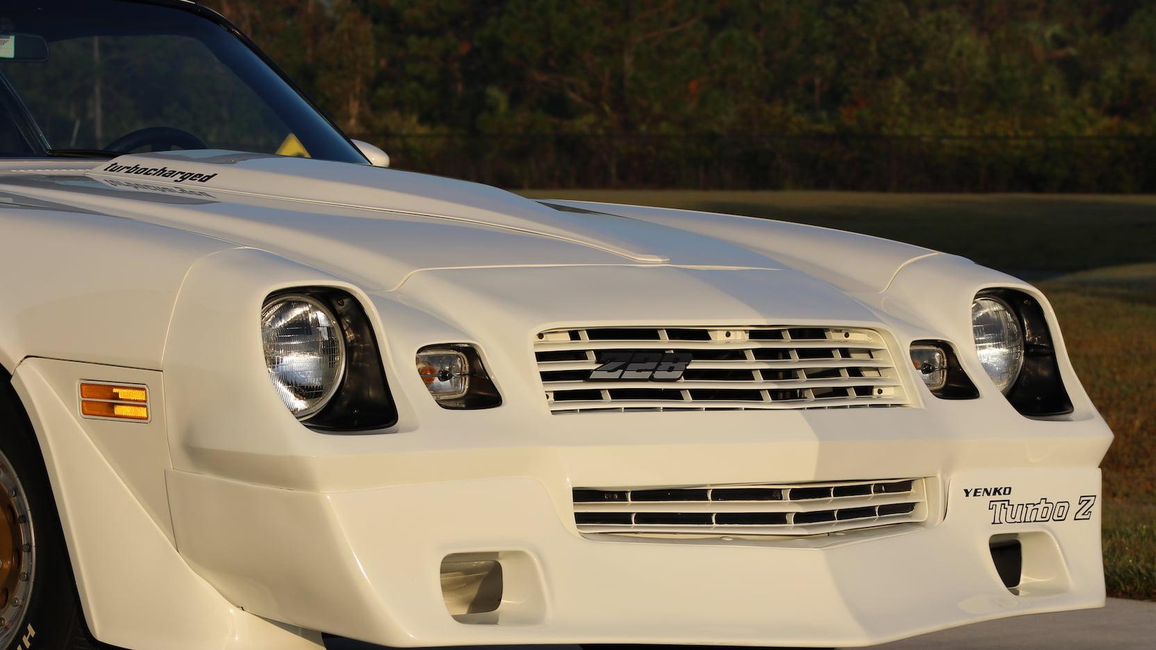 1981 Chevrolet Yenko Turbo Z nose