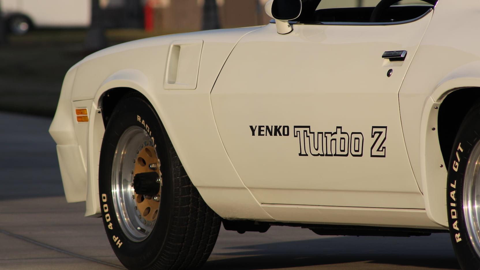 1981 Chevrolet Yenko Turbo Z side detail