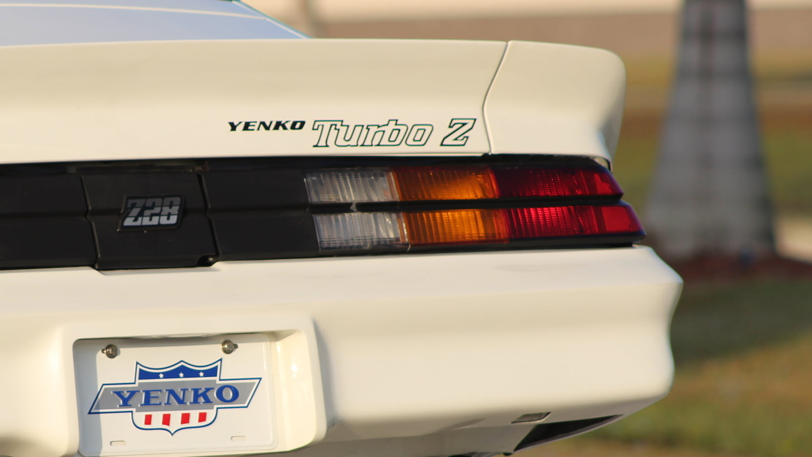 1981 Chevrolet Yenko Turbo Z rear detail