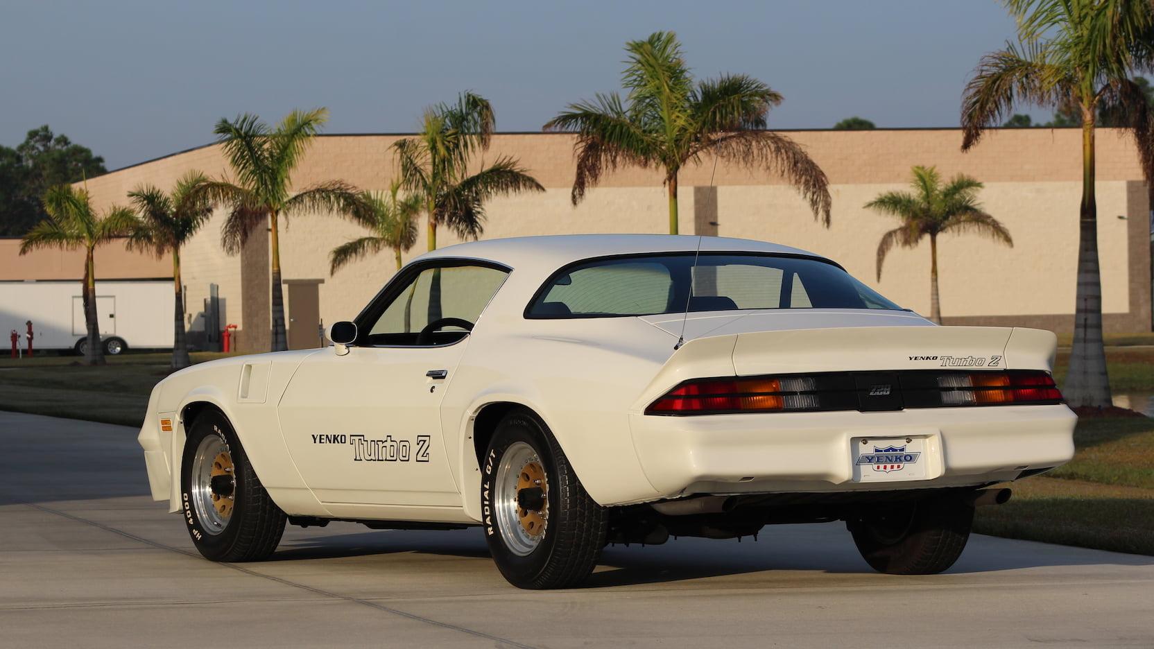 1981 Chevrolet Yenko Turbo Z rear 3/4