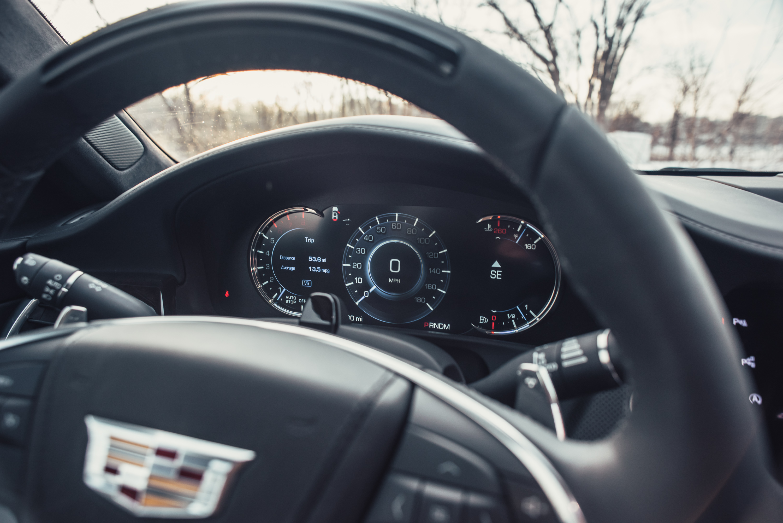 2018 Cadillac CT6 Platinum AWD attention sensor