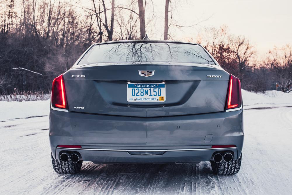 2018 Cadillac CT6 Platinum rear