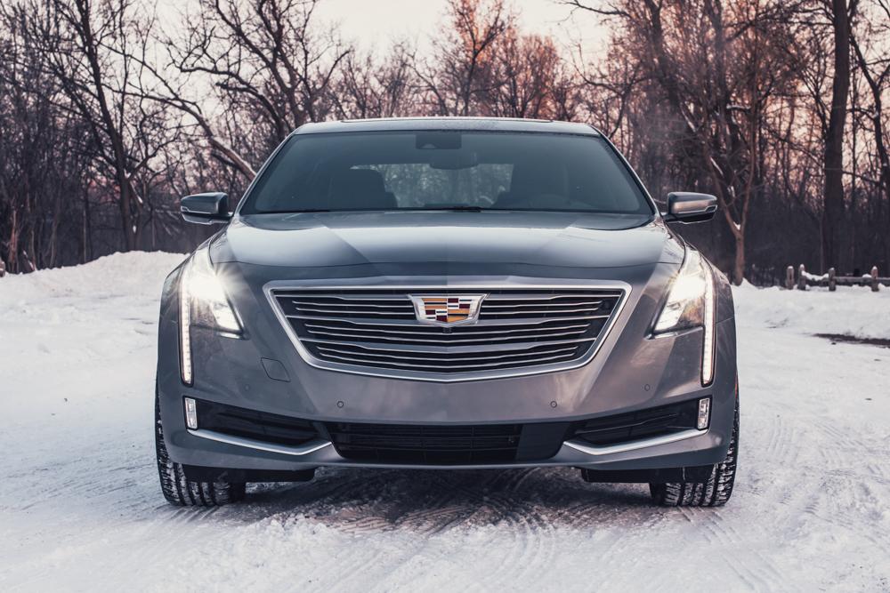 2018 Cadillac CT6 Platinum front