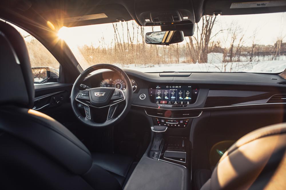 2018 Cadillac CT6 Platinum dashboard view