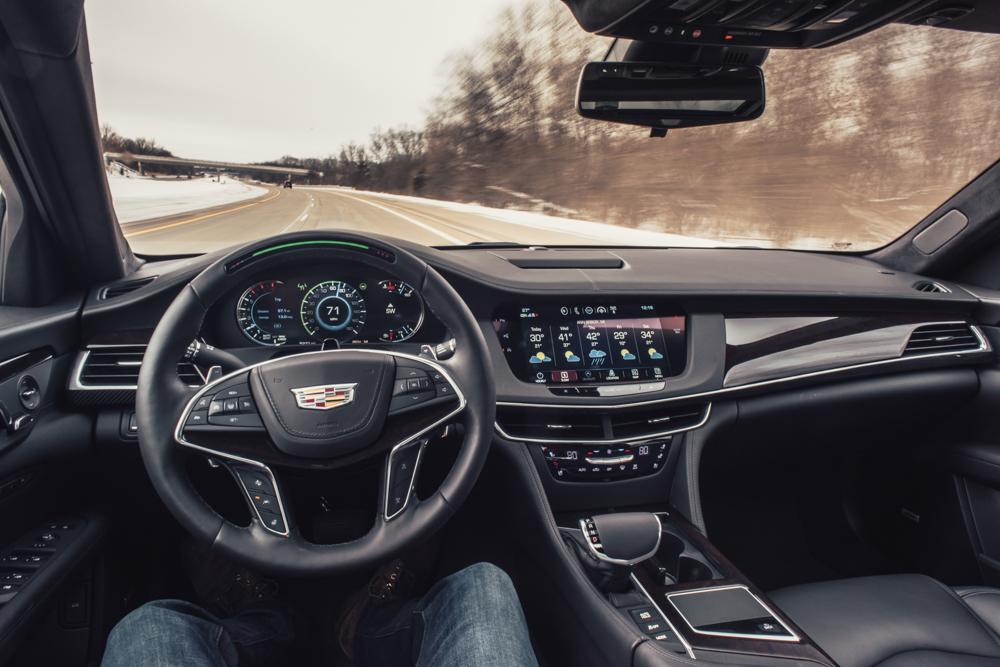 2018 Cadillac CT6 Platinum drivers view