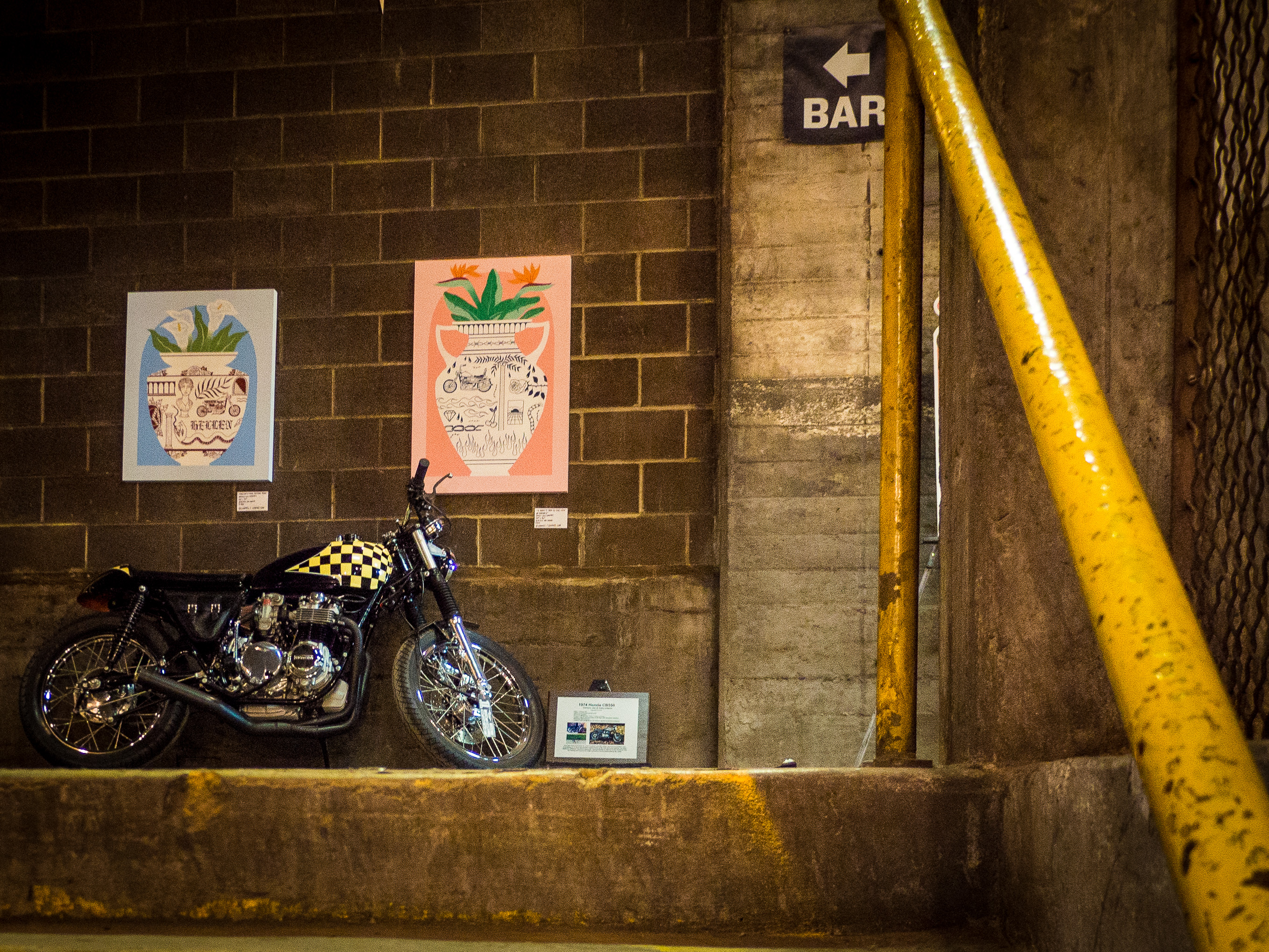This 1974 Honda CB550 was bought as a non-running basketcase for $250 and given new life as a badass.