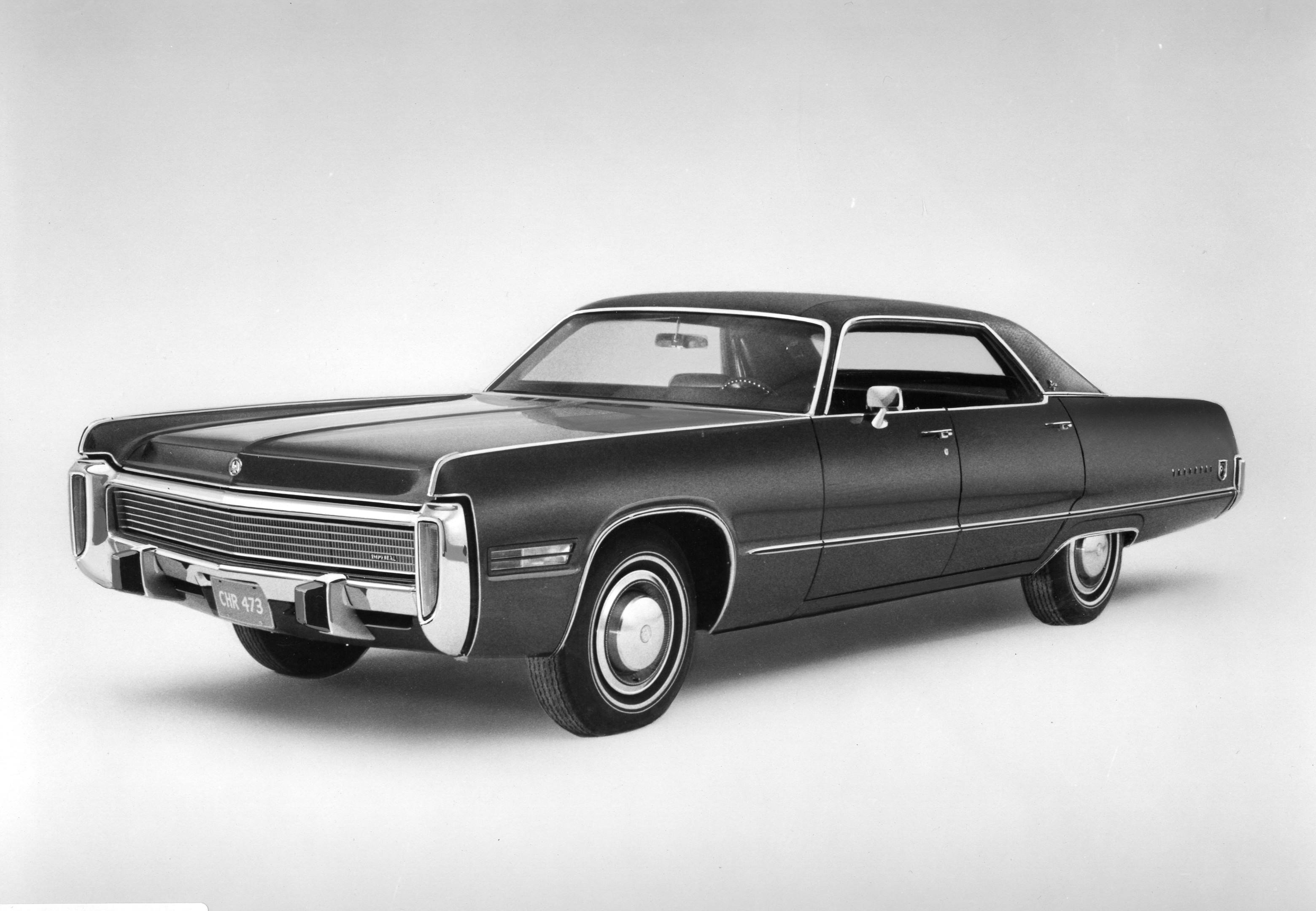 1972 Chrysler Imperial front 3/4