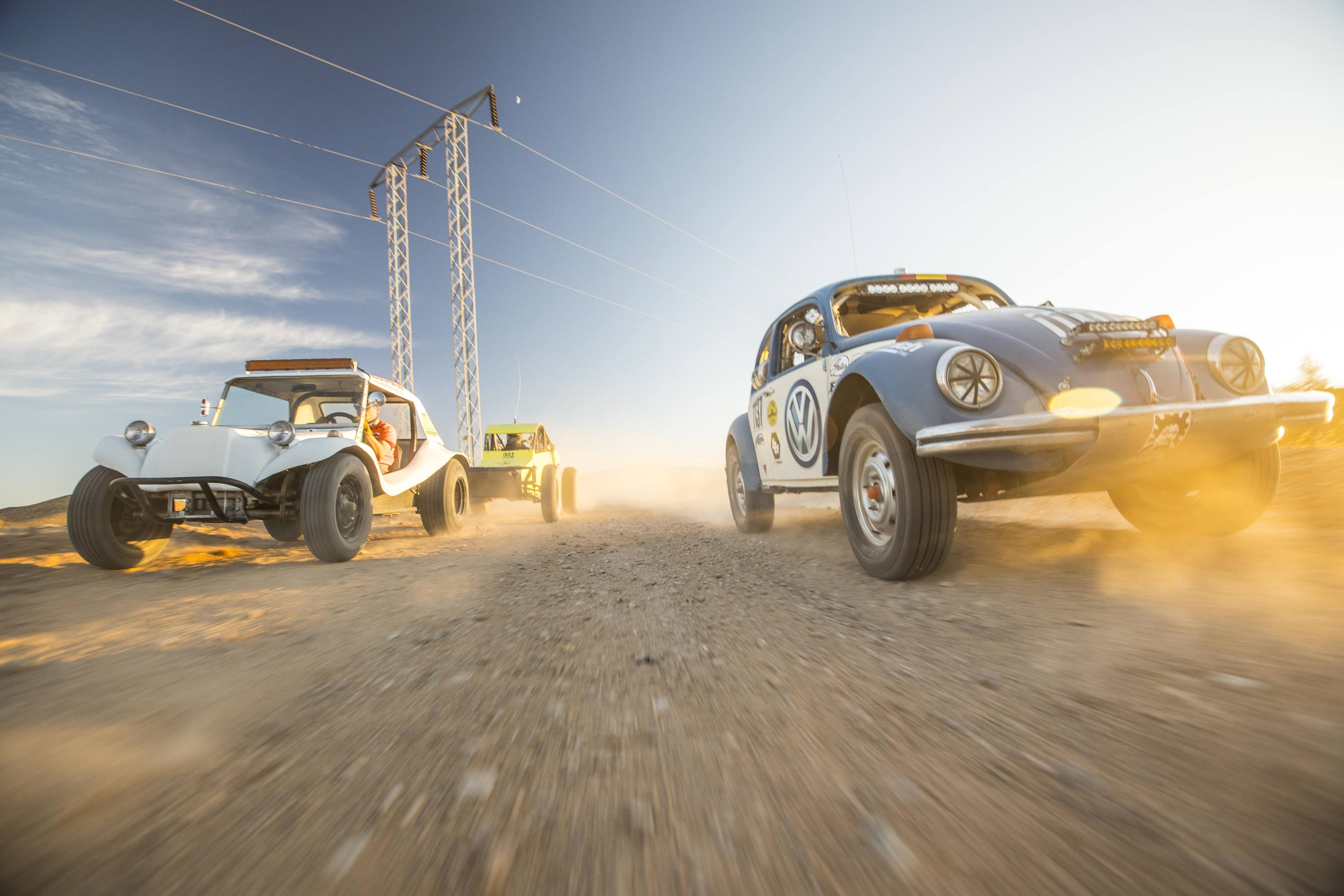 Volkswagen was there when Baja racing was born, and the cars are still at it