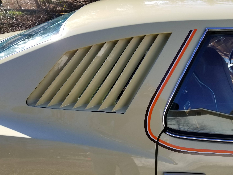 1973 Pontiac Grand Am side vent detail