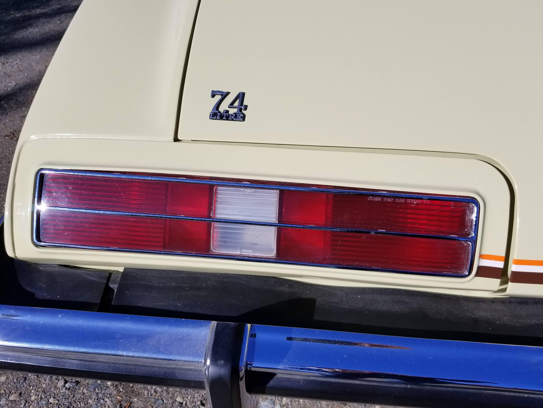 1973 Pontiac Grand Am 7.4 litre bage