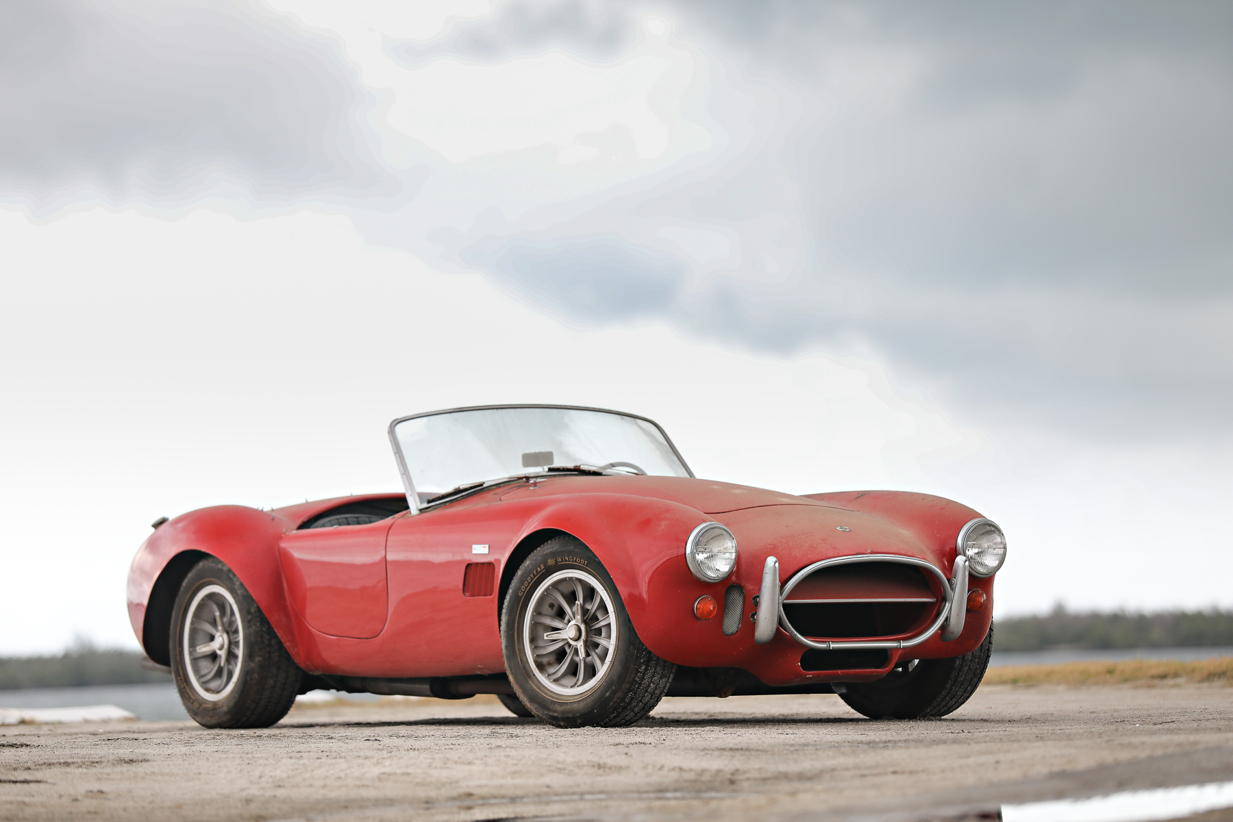red 1966 Shelby Cobra 427