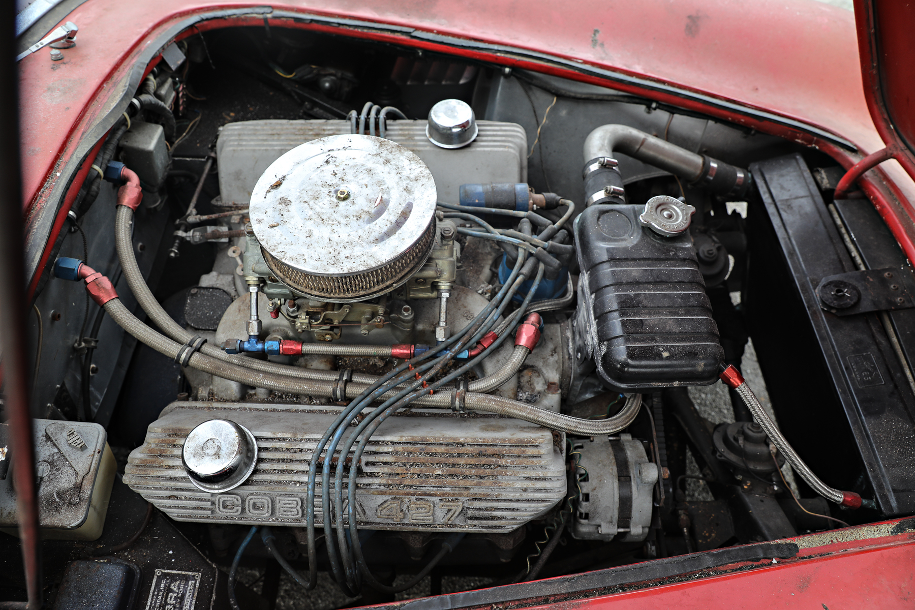 1966 Shelby Cobra 427 engine