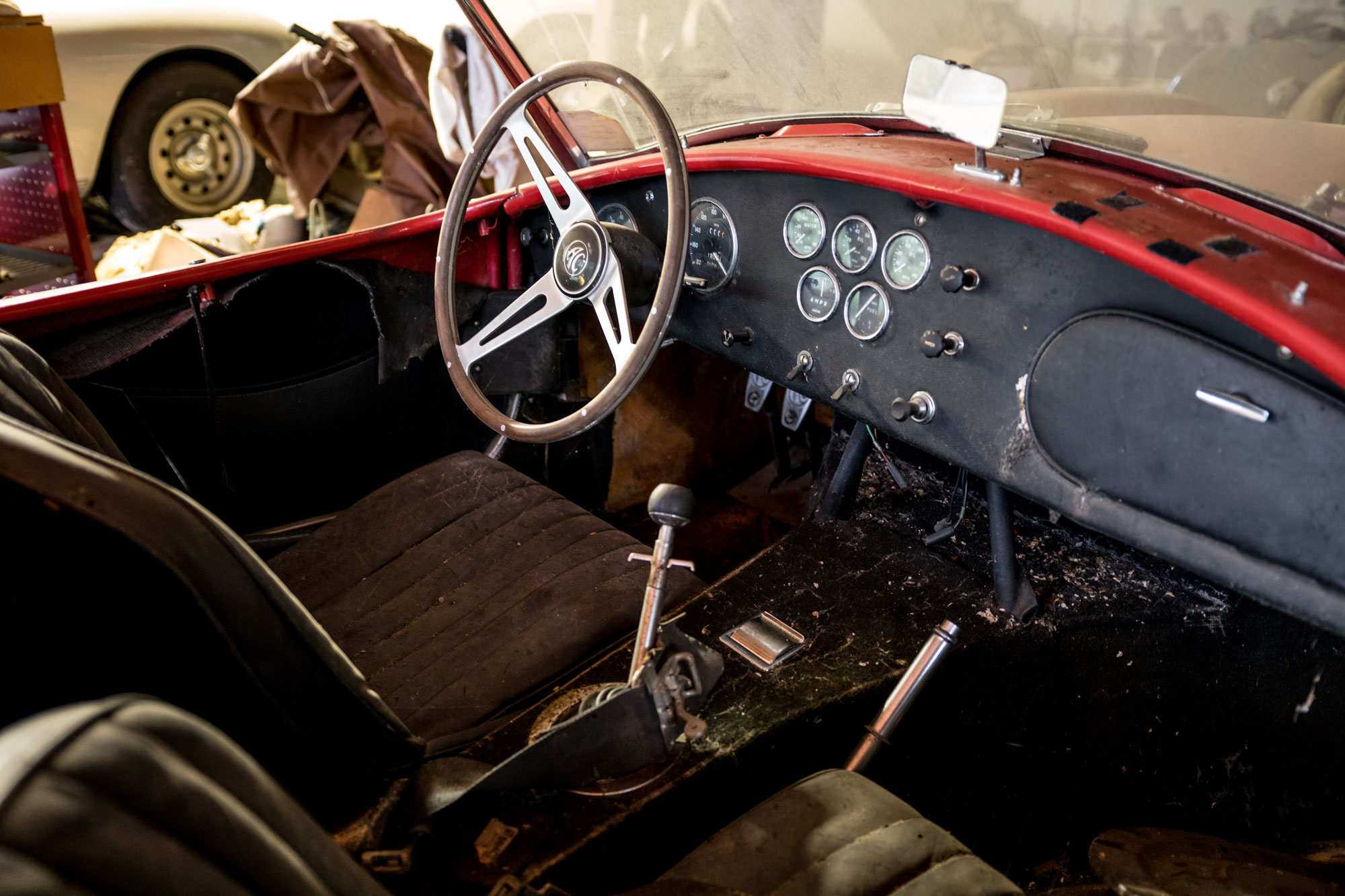 1966 Shelby Cobra 427 interior
