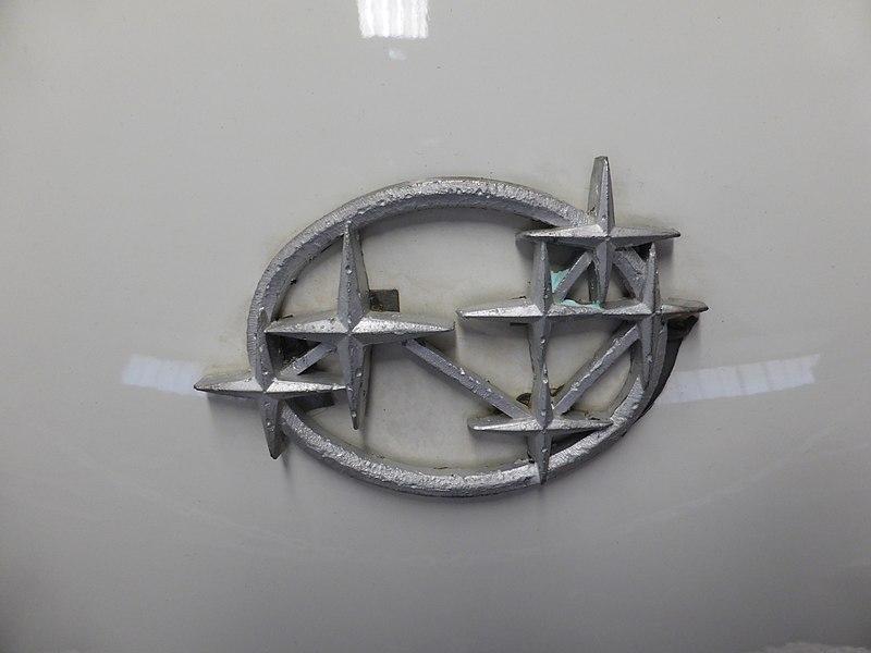 1965 Subaru emblem