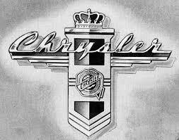 Vintage Chrysler emblem