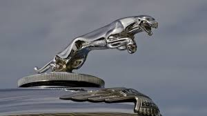 Vintage Jaguar hood ornament