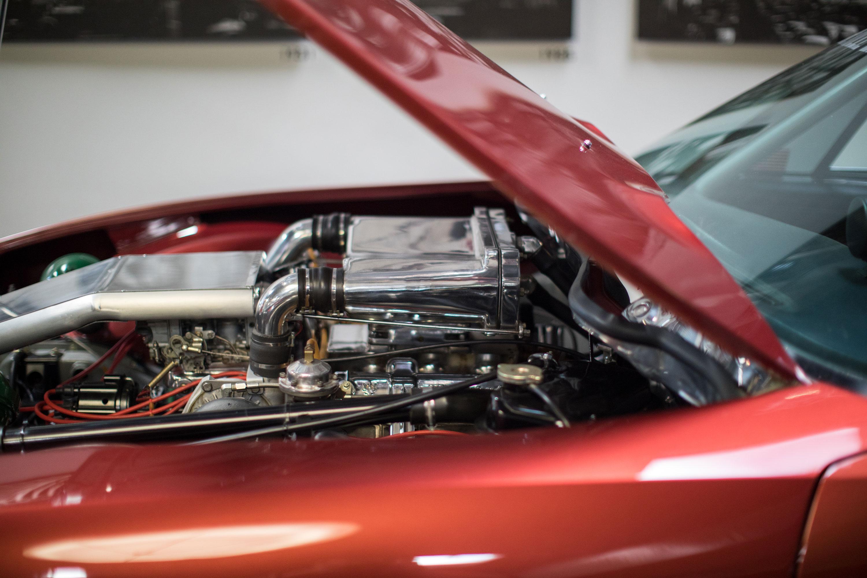 Citroën SM engine side shot