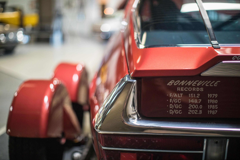 Citroën SM Bonneville speed records