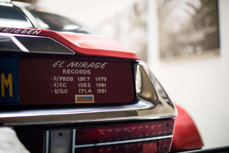 Citroën SM El Mirage speed records