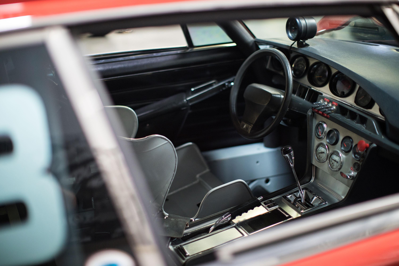 Citroën SM race interior