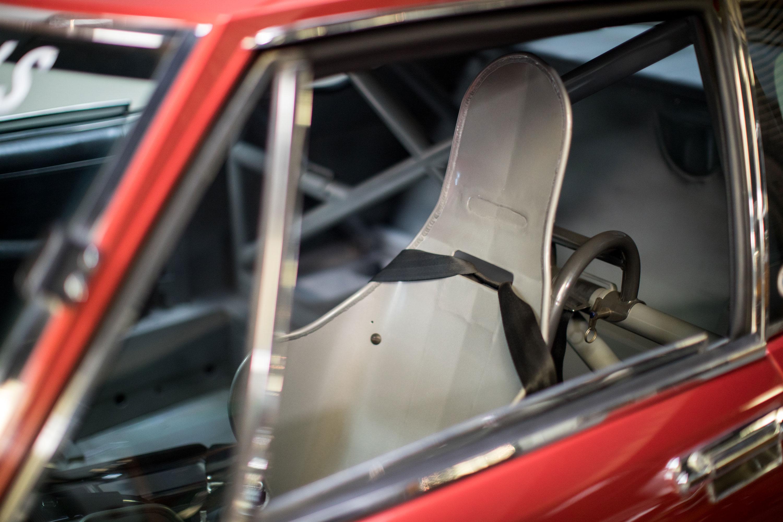 Citroën SM seat detail