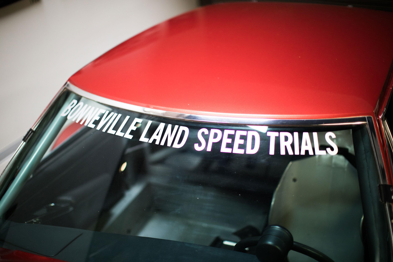 Citroën SM Bonneville land speed trails