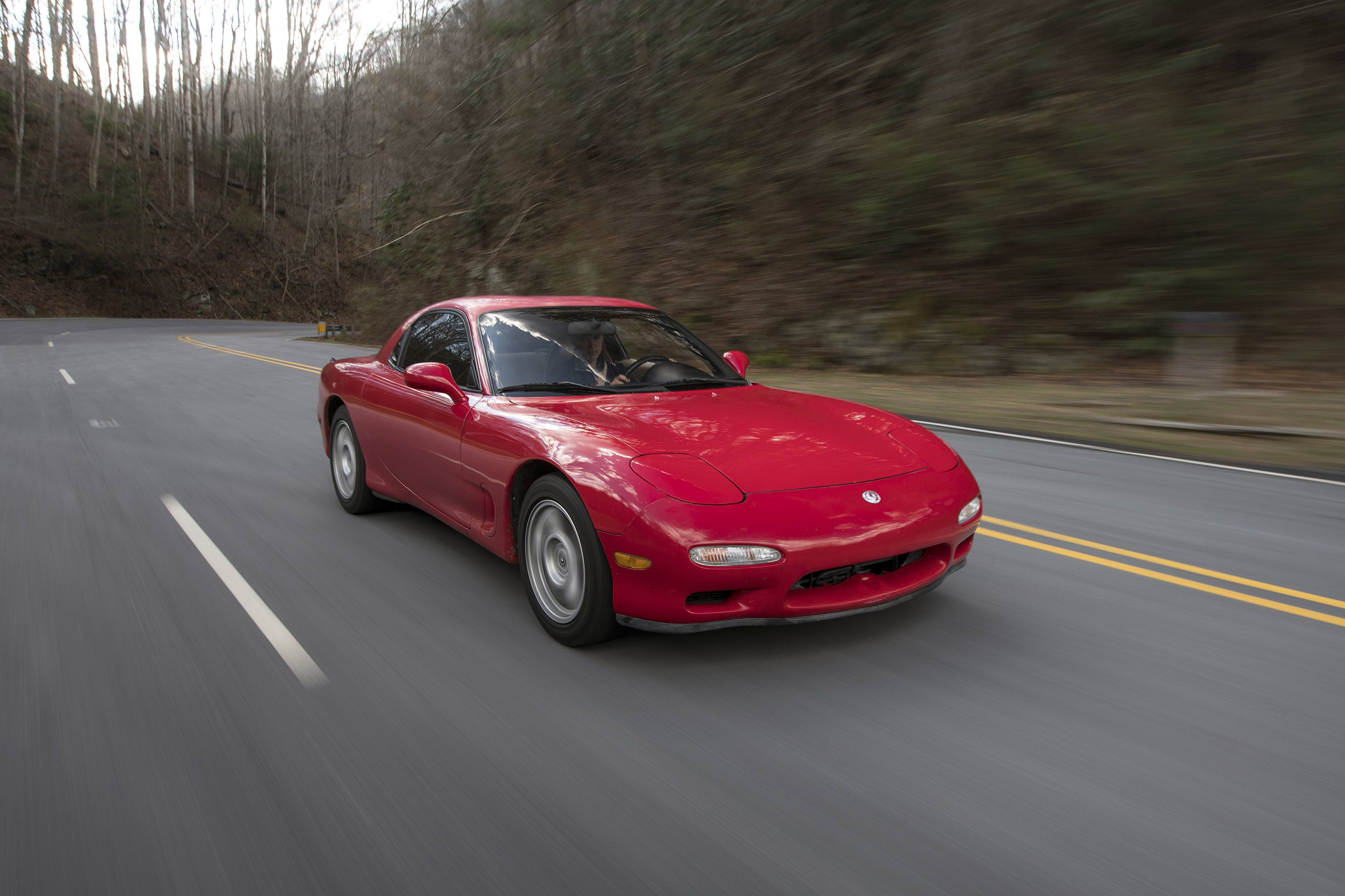 1993 Mazda RX-7 high front 3/4