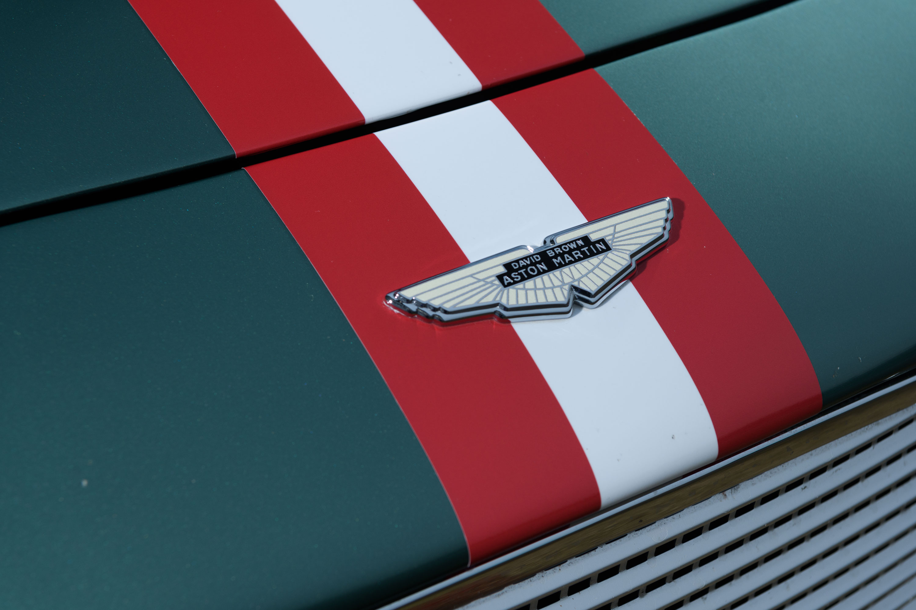 David Brown Aston Martin badge