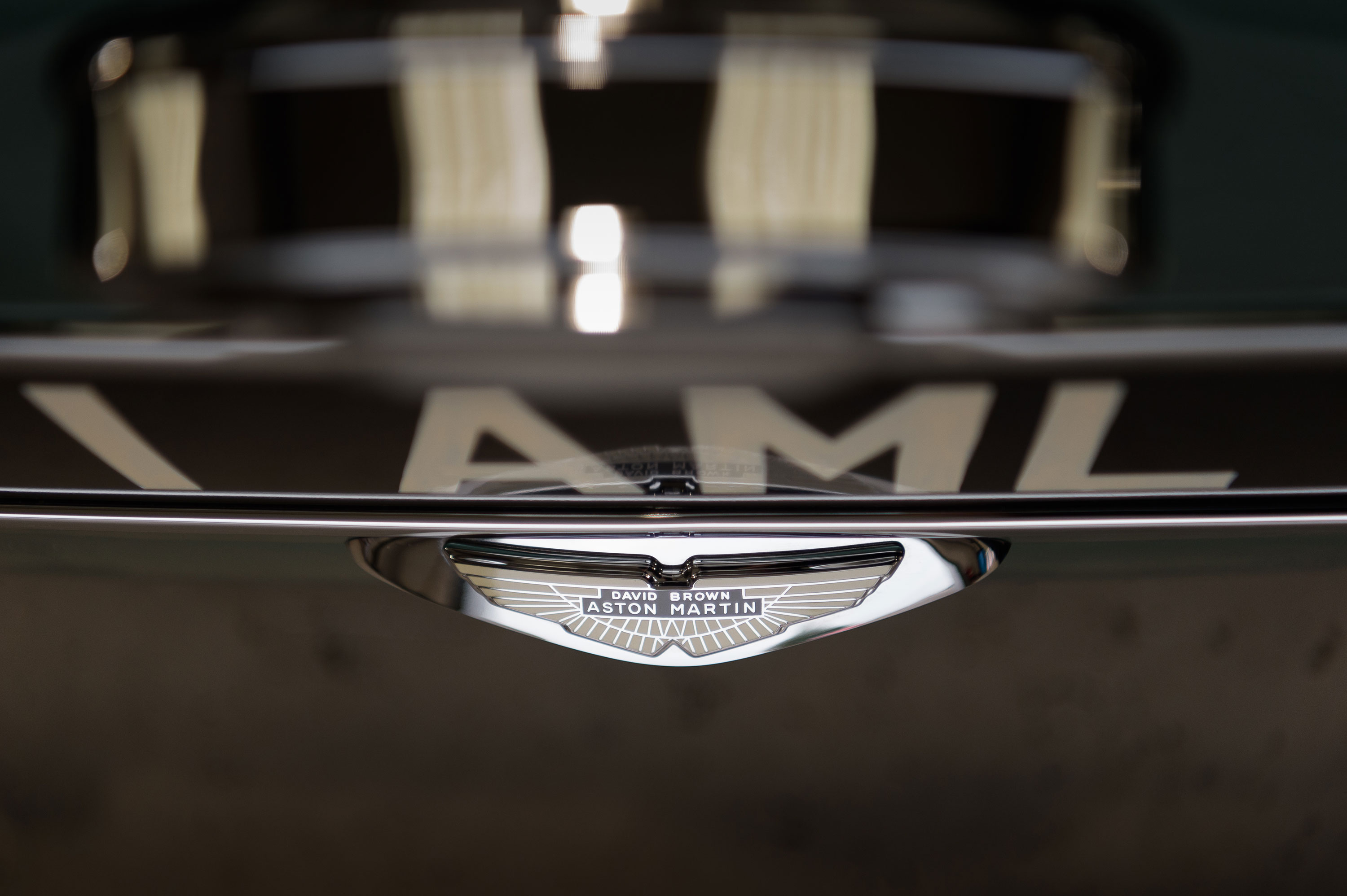 1959 Aston Martin DB4 GT David Brown Aston Martin badge